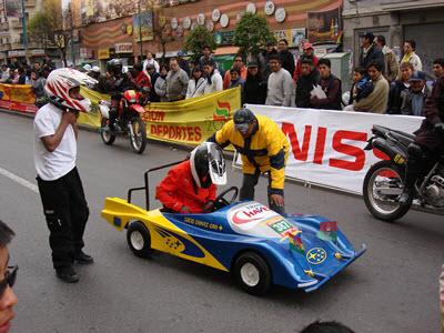 Carrera de Cochecitos sin motor 2011  - La Paz