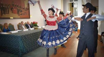 Danzas Folklóricas – Teatro Municipal Alberto Saavedra Pérez