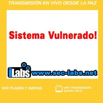 Sistema Vulenerado - Imagen de la webcam desde la casa de cristal de La Paz