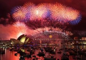 Feliz Año Nuevo 2012 alrededor del Mundo