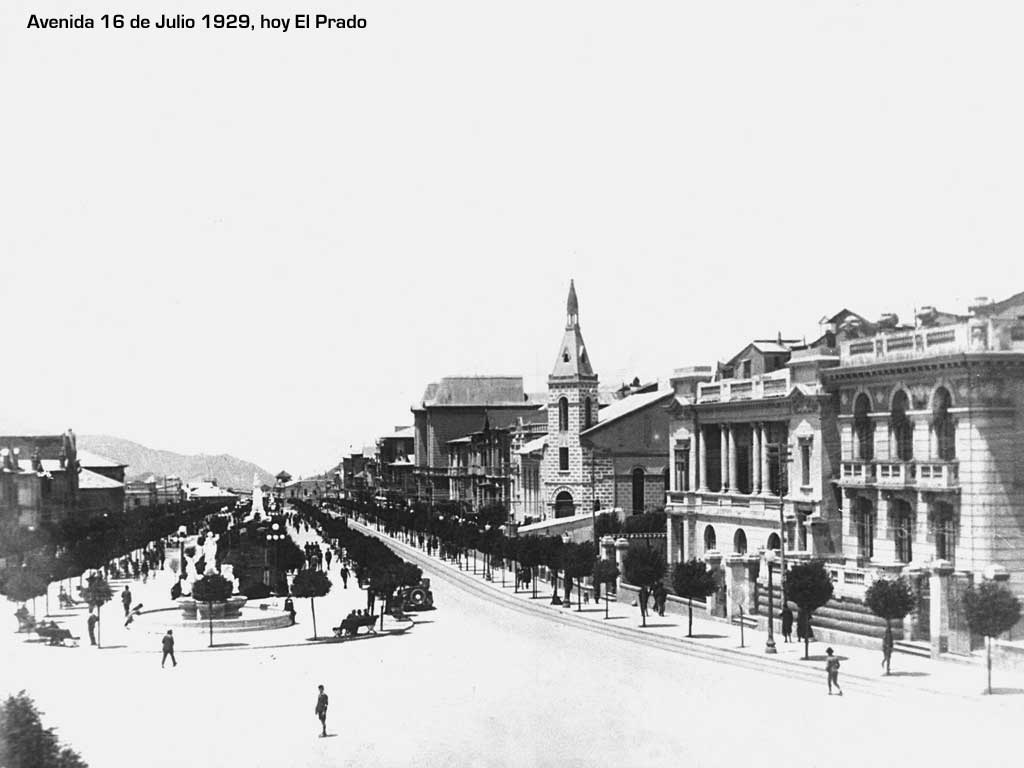 Avenida 16 de Julio