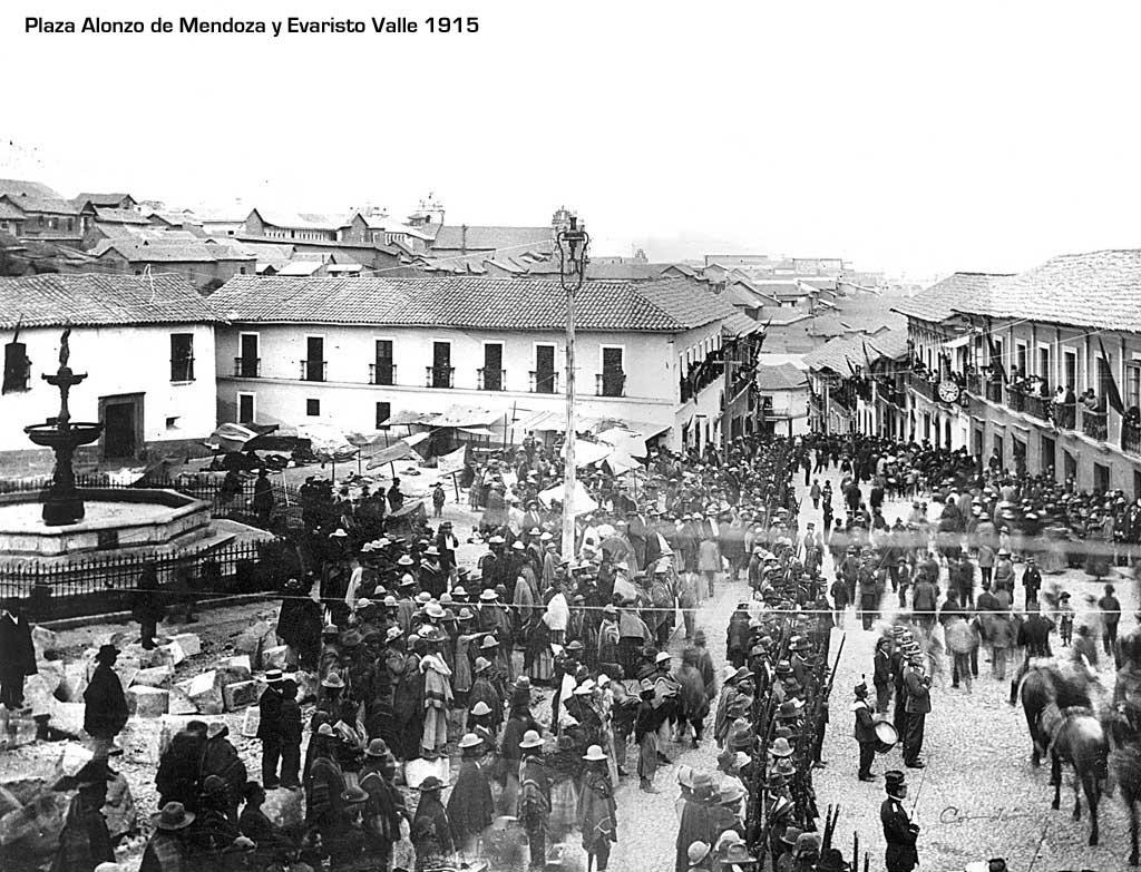 Plaza Alonso de Mendoza