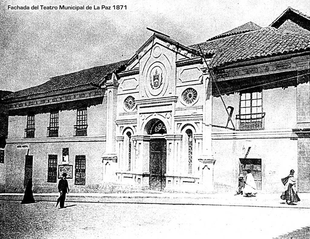 Teatro Municipal en 1981