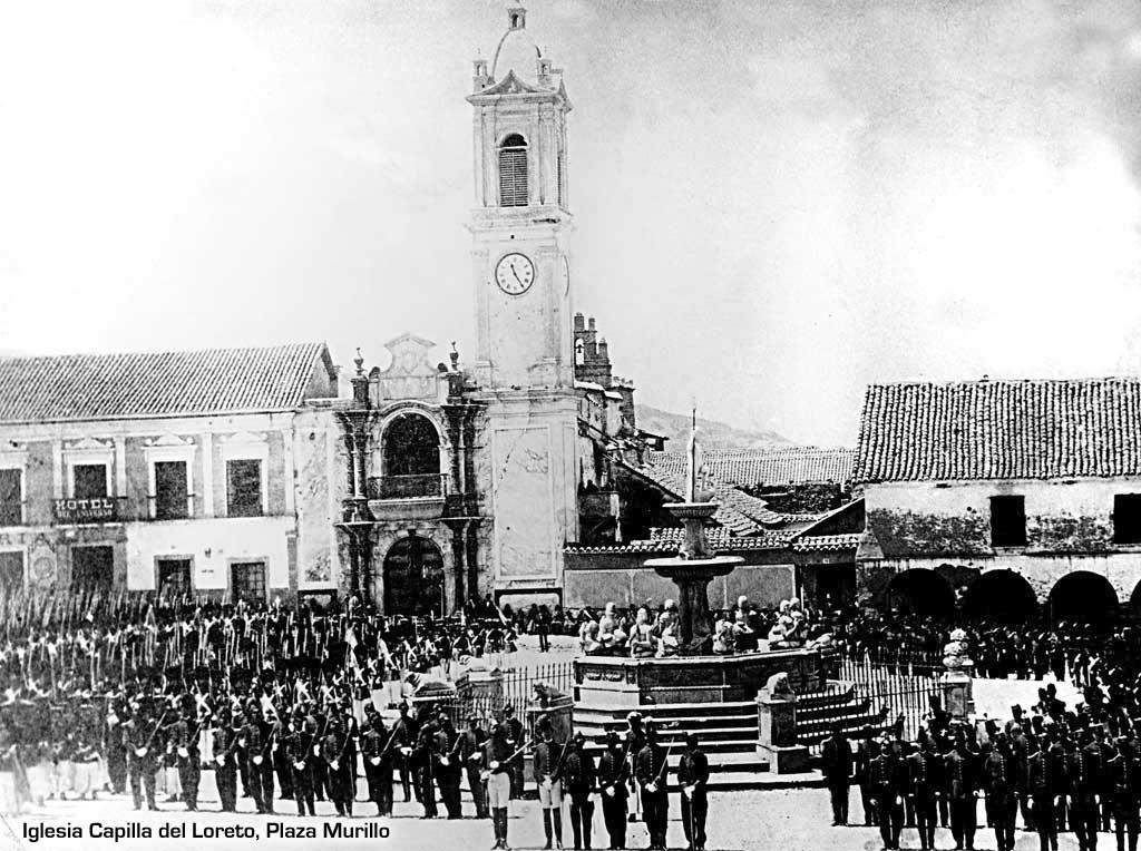 Iglesia Capilla del Loreto - Plaza Murillo