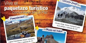 Paquetazo turístico comunitario en La Paz Septiembre 2013