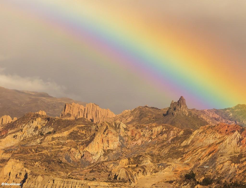 Arco Iris sobre la Muela del Diablo
