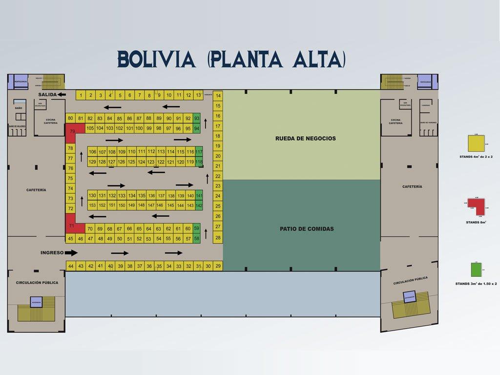 FIPAZ 2014 - Pabellón Bolivia