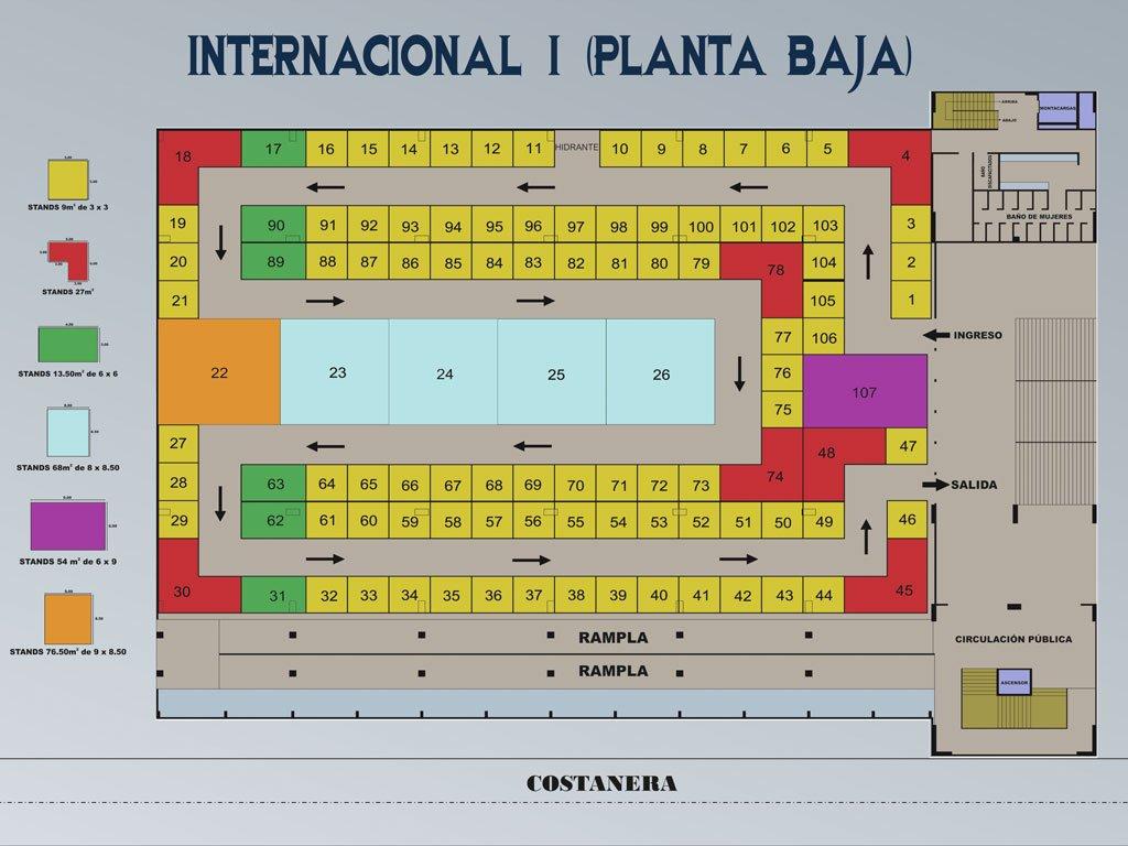 FIPAZ 2014 - Pabellón Internacional