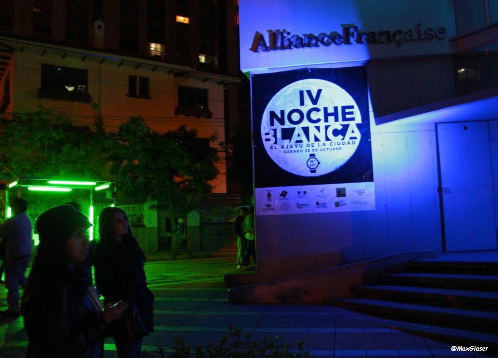 Noche Blanca en La Paz - 2014