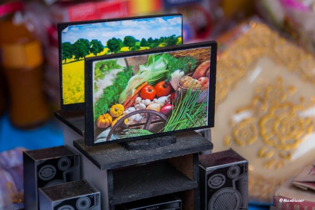 Alasitas 2015 - Televisión LCD y equipo de sonido