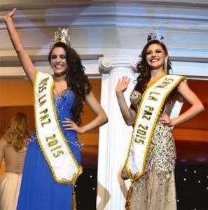 Miss La Paz 2015 – Las Ganadoras