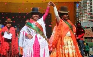 Elección Cholita Paceña 2015 – Plaza Camacho