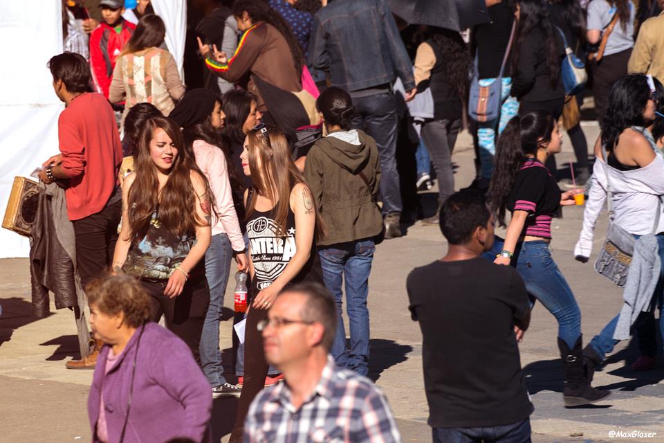 Visitantes del Megafest 2015