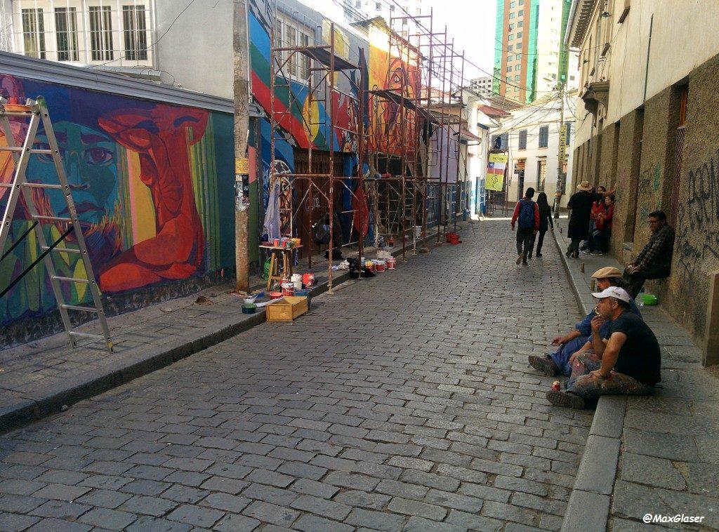 Muralistas de América Latina