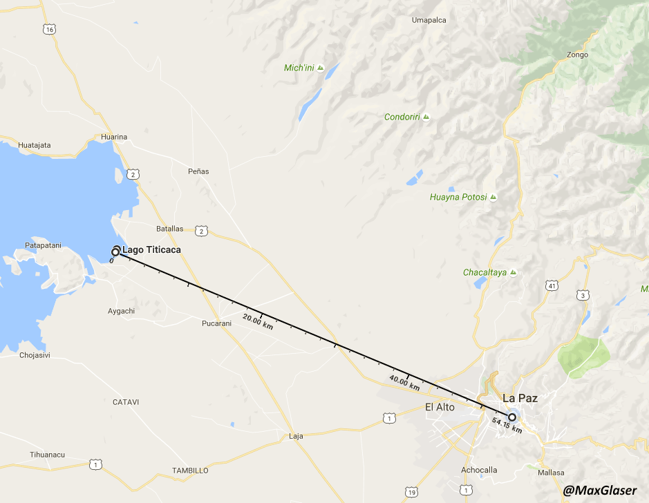 Agua para La Paz - Acueducto desde el Lago Titicaca