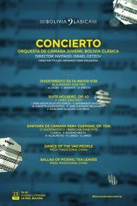 Concierto de Bolivia Clásica – Iglesia Luterana
