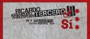 Ricardo III – Teatro Municipal Alberto Saavedra Pérez
