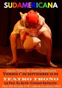 Sudamericana Danza Teatro – Casa Cultural Compa