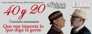 Altiplano y la Big Band Bolivia 40 y 20 – Teatro Municipal Alberto Saavedra Pérez