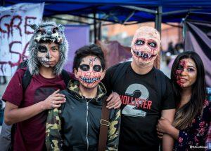 Impresiones de la Marcha Zombie 2017 en La Paz