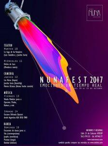 Nuna Fest 2017 – Teatro Nuna