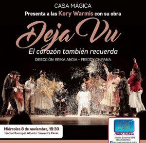 Kory Warmis – Teatro Municipal Alberto Saavedra Pérez