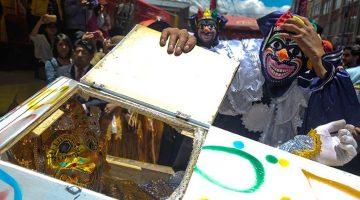 Desentierro del Pepino – Carnaval 2018 en La Paz