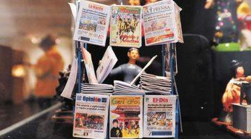 Exposición de Periódicos de Alasita – Museo Tambo Quirquincho