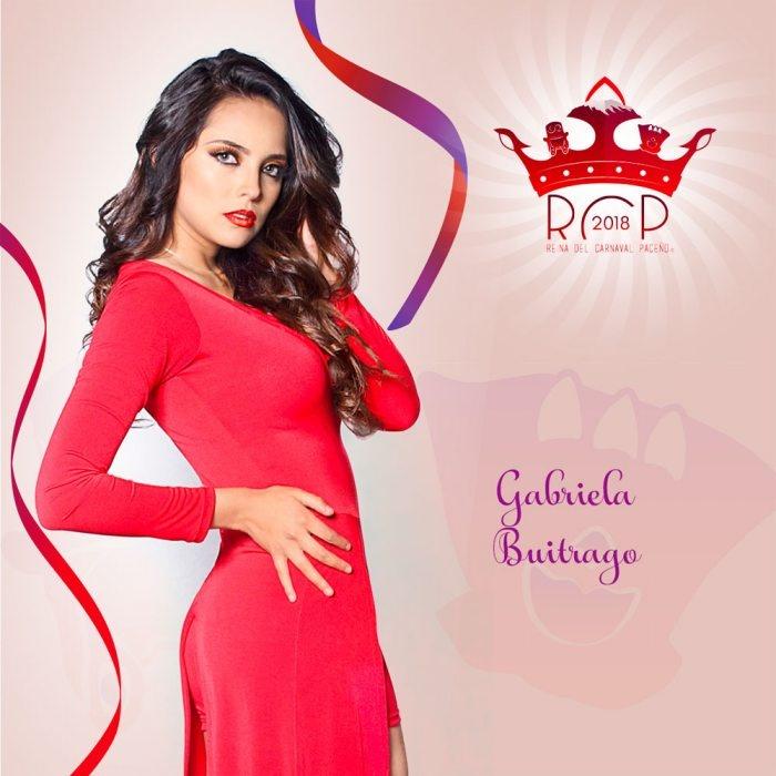 Gabriela Buitrago - Reina de Carnaval paceño 2018