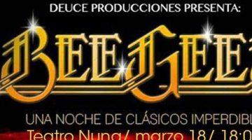 Homenaje a Bee Gees – Teatro Nuna