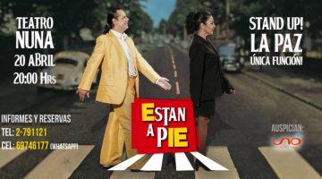 Están a Pie – Teatro Nuna