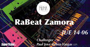 Ra Beat y Zamora – Teatro Nuna