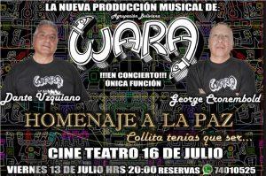 Wara Homenaje a La Paz – Teatro 16 de Julio