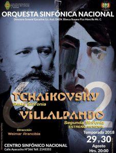 Tchaikovsky Sexta Sinfonía – Centro Sinfónico Nacional