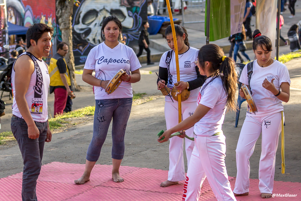 Presentación de capoeira