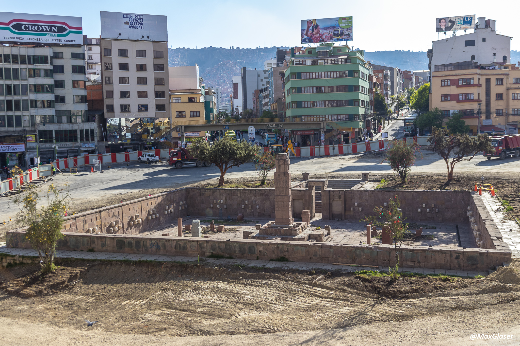 Viaducto Tejada Sorzano - Plaza de los Monolitos