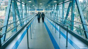 Impresiones de las estaciones del Teleférico de La Paz