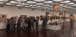 Exposición de Pedro Peralta – Embajada del Uruguay