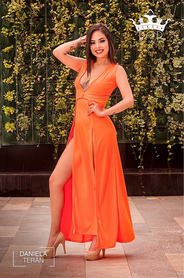 Candidatas - Reina Carnaval Paceño 2019 - Daniela Terán García