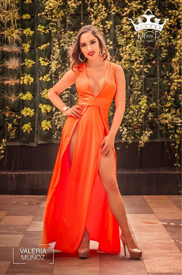 Candidatas - Reina Carnaval Paceño 2019 - Valeria Muñoz